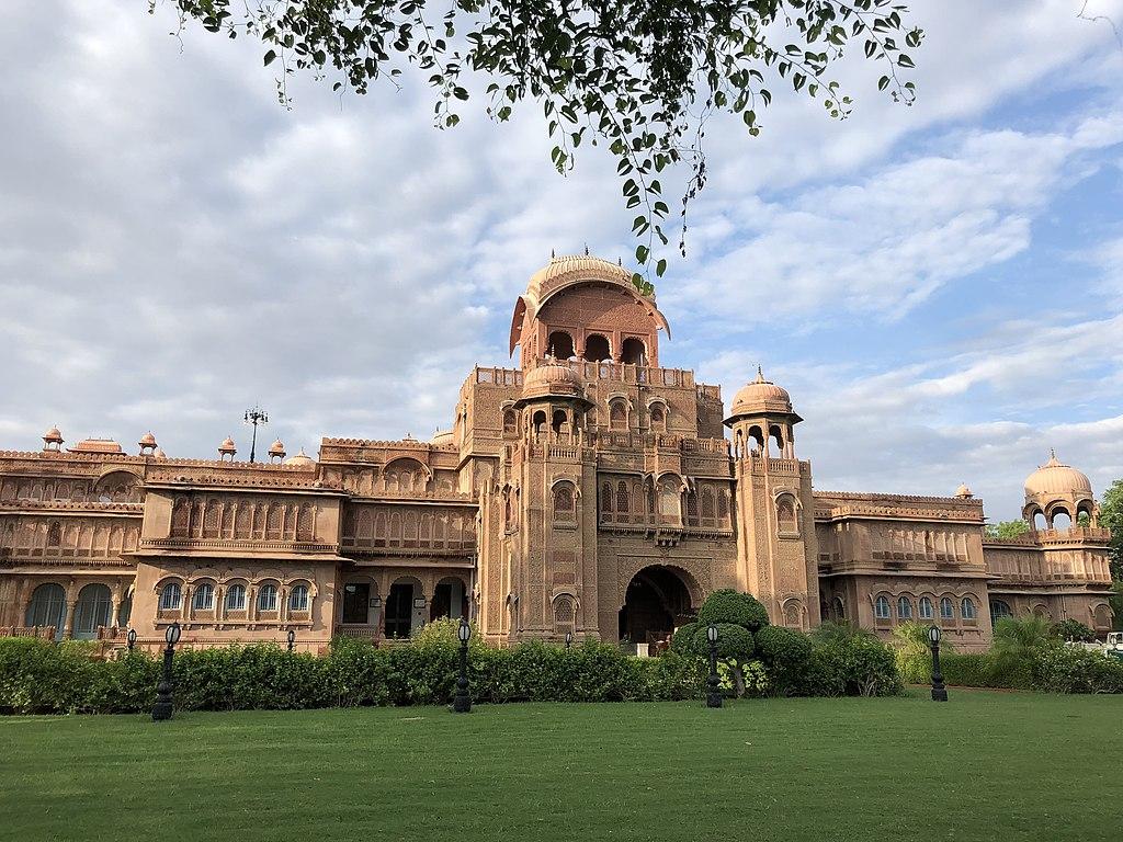 The Laxmi Niwas Palace, Bikaner, Rajasthan