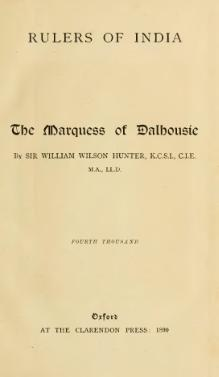 The Marquess of Dalhousie.djvu