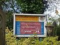 The Parish Church of St. James the Great - St James Street, Wednesbury - church sign (37842890984).jpg