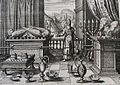 The Phillip Medhurst Picture Torah 431. The ark of the covenant. Exodus cap 25 vv 10&40. Merian.jpg