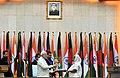 The Prime Minister, Shri Narendra Modi and the Prime Minister of Bangladesh, Ms. Sheikh Hasina exchanging the memorabilia, in Dhaka, Bangladesh on June 06, 2015 (1).jpg
