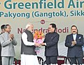 The Prime Minister, Shri Narendra Modi at the inauguration of the Pakyong Airport, in Gangtok, Sikkim (1).JPG