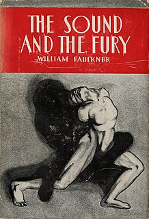 <i>The Sound and the Fury</i> 1929 novel by William Faulkner