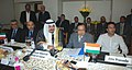The Union Minister for Petroleum and Natural Gas, Shri Murli Deora and his counterpart from Kuwait, Mr. Sheikh Ahamad Abdullah Al-Ahmad Al-Sabah, in a meeting, in New Delhi on September 28, 2010.jpg