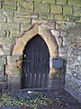 The Vicar's Pele - east doorway - geograph.org.uk - 852161.jpg
