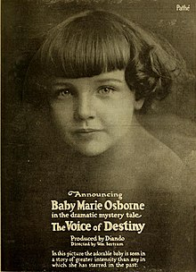 Marie Osborne en The Voice of Destiny (1918)