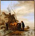 The blacksmith, Philips Wouwerman, 1600s, oil on wood - Villa Vauban - Luxembourg City - DSC06542.JPG