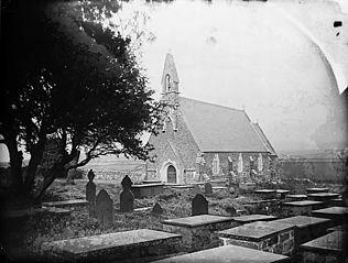 The church, Sarn (Mellteyrn?)