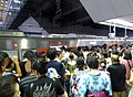 The crowd in Osaka Station on 25th July 2018 (2).jpg