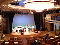 The dolphin-hall of the luxurious passenger liner Nippon-maru.JPG