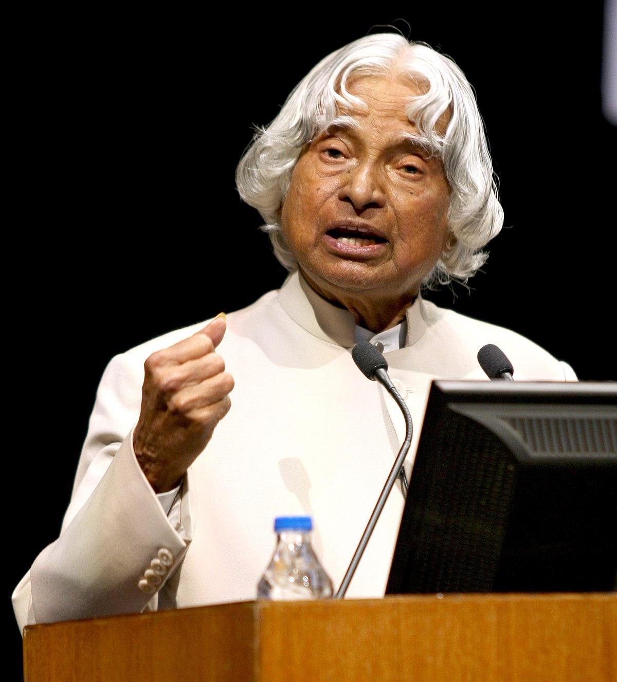 A  P  J  Abdul Kalam - Wikipedia