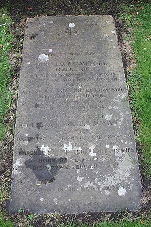 Donald Crawford - The grave of Donald Crawford, St Cuthberts churchyard, Edinburgh