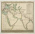 The overland routs (sic) to India, by Russia, Turkey and Persia. RMG K1098.jpg