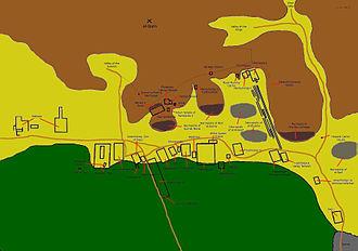 Theban Necropolis - Map of Theban Necropolis