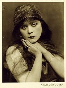 Theda Bara 1921 Orval Hixon