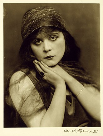 Theda Bara - Bara in 1921 Photo by Orval Hixon