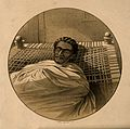 Theodore, on his death bed. Lithograph by James Ferguson aft Wellcome V0007330.jpg