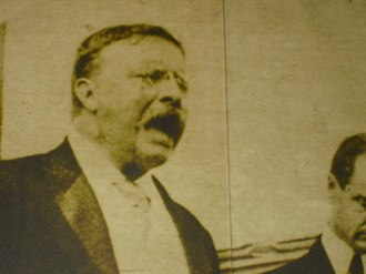 Presidential Museum and Leadership Library - Image: Theodore Roosevelt exhibit at Presidential Museum Picture 1865