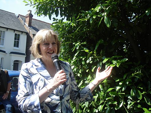 Theresa May in 2007