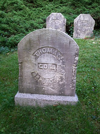 Thomas Gold Appleton - Grave of Thomas Gold Appleton in Mount Auburn Cemetery