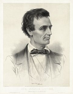 Thomas Hicks - Leopold Grozelier - Presidential Candidate Abraham Lincoln 1860 - cropped to lithographic plate.jpg