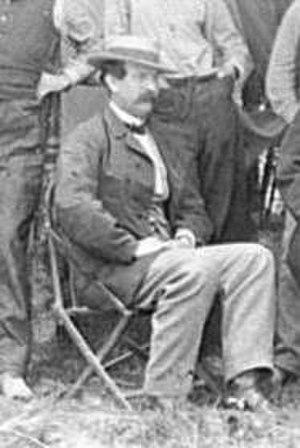 Thomas Eckert - Major Thomas T. Eckert near Petersburg, Va., 1864.