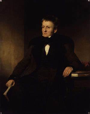 John Watson Gordon - Portrait of Thomas de Quincey, c. 1845