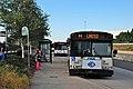 Three C-Tran buses at Delta Park-Vanport MAX station.jpg