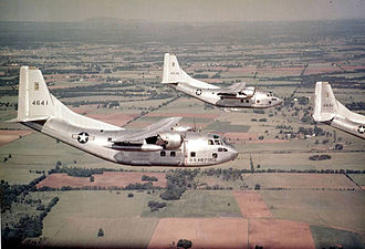 60th Air Mobility Wing - 376th Troop Carrier Squadron, C-123B Providers, Dreux-Louvilliers Air Base, France, 1957
