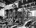 Three steam engines under construction at Aker mekaniske verksted.jpg