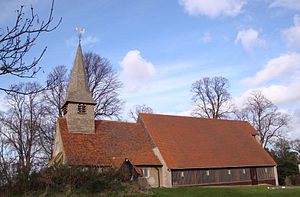 Thundersley - Image: Thundersley, Essex St.Peters Church