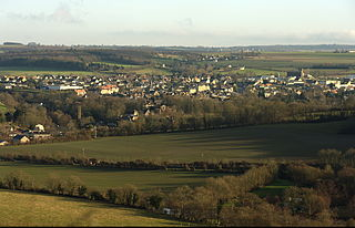 Thury-Harcourt Part of Le Hom in Normandy, France