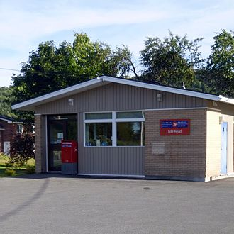 Tide Head, New Brunswick - Tide Head federal post office