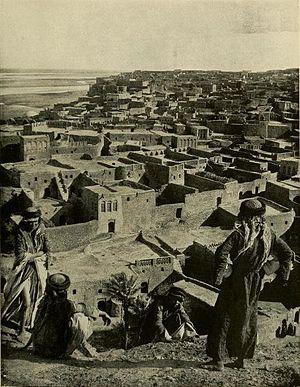 Tikrit - View of Tikrit ca. 1914