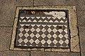 Tiled Inspection Cover near Southgate Station, London N14 - geograph.org.uk - 1000915.jpg