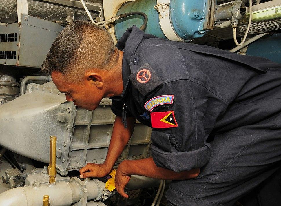 Timorese sailor