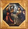 Tintoretto, tavole per un soffitto a palazzo pisani in san paterniano a venezia, 1541-42, giove ed europa.jpg