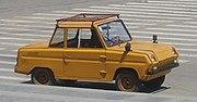 СЗД — двухместный четырехколесный автомобиль-мотоколяска Сeрпуховского aвтозавода. 1970-1997