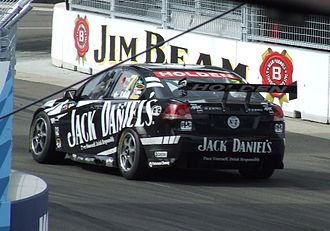 Kelly Racing - The Holden VE Commodore of Todd Kelly at the Sydney 500 in December 2009.