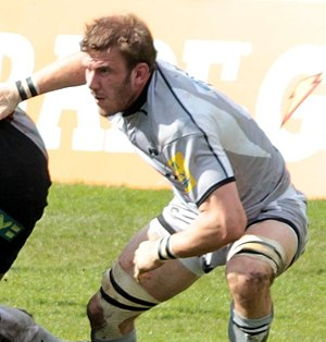 Leicester Tigers - Tom Croft made his debut in 2006 after coming though the club's academy