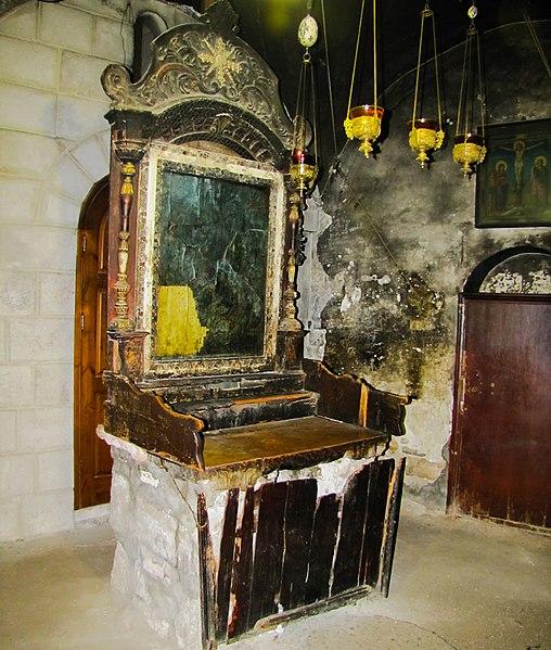 Kapelle der Jakobiten in der Grabeskirche - vergrößerbar