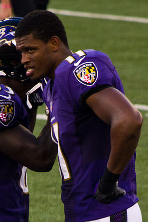 Tommy Streeter - Streeter with the Baltimore Ravens in 2012