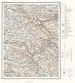 Topographic map of Norway, E36 vest Kviteseid, 1960.jpg
