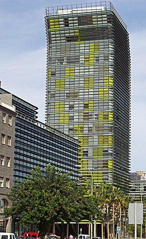 Iñaki Ábalos - Torre Woermann by Abalos & Herreros