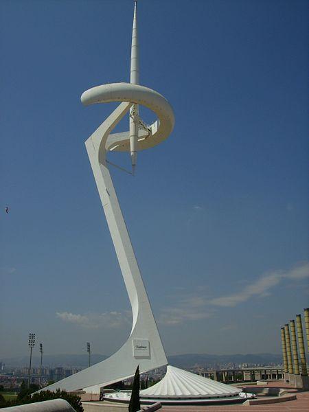 Súbor:Torre de comunicacions de Montjuic1 - Barcelona (Catalunya).jpg