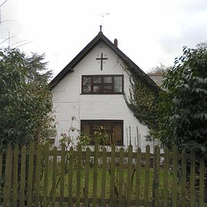 Fernhill, West Sussex - Fernhill's former Baptist chapel is now a house.