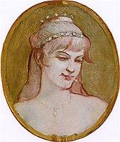 Toulouse-Lautrec - Girl's Head, 1892.jpg