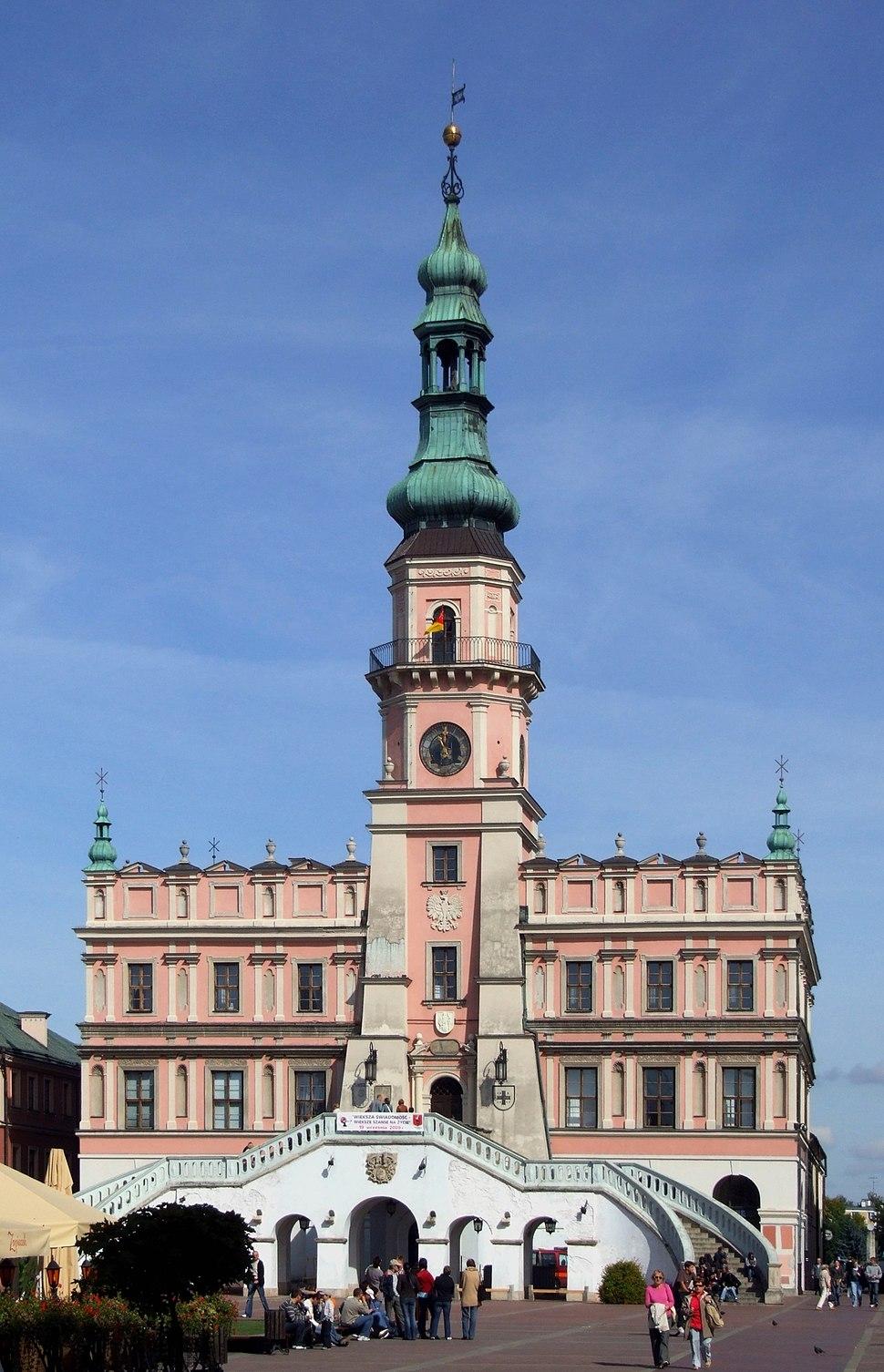 Town Hall in Zamość 2009