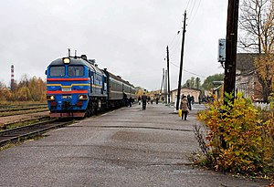 Kalyazin - The Kalyazin railway station