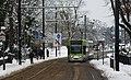 Tram in Addiscombe Road, Croydon - geograph.org.uk - 2188341.jpg